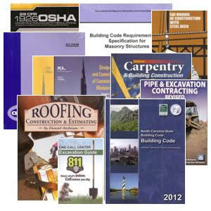 Buy Your NC Residential Contractor Contractor Books Now