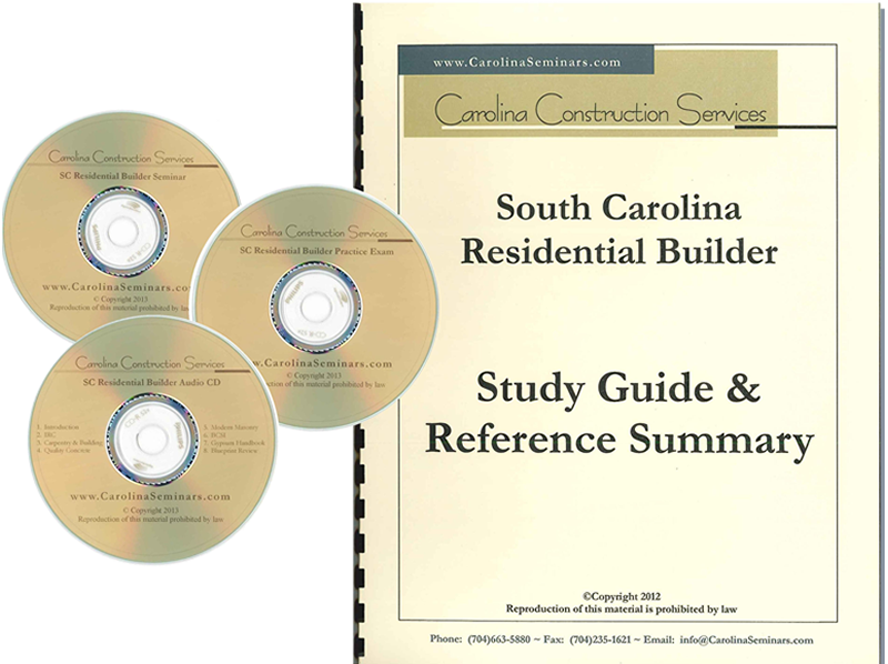 At Home Seminar and Study Guide CD Course - South Carolina