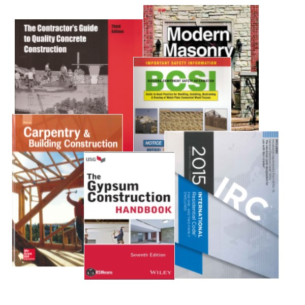 sc-residential builder book set